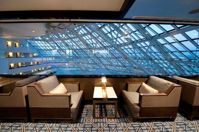 Crown Perth Club Lounge Refurbishment International