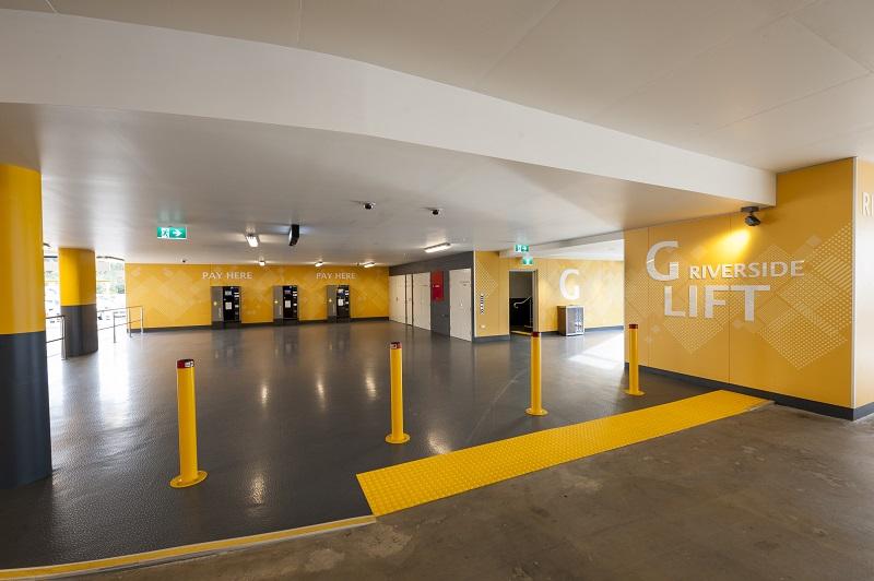 Multi Level Parking Crown Casino