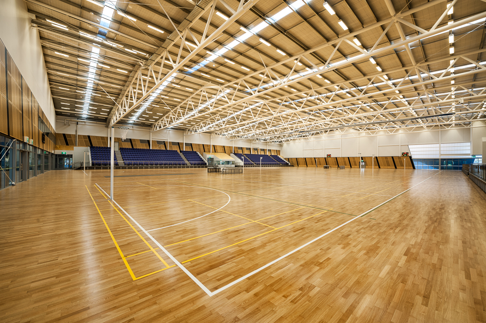 State Netball Centre Wembley Ps Structures